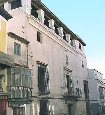 Casa señorial junto a la Plaza Mayor