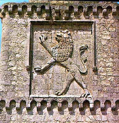 Escudo del Castillo de Barcience