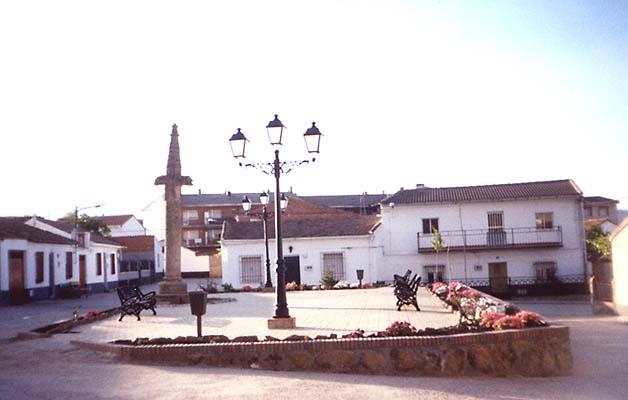 Plaza en Cardiel de los Montes