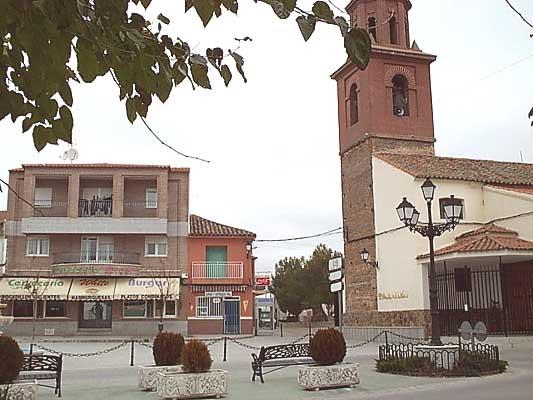 Plaza del Ayuntamiento de Cazalegas
