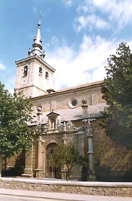 Iglesia parroquial del Apóstol Santiago