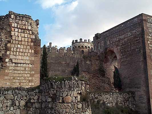 Detalle del Castillo de Escalona
