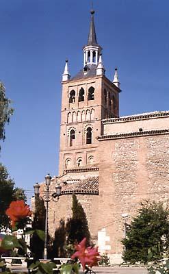 Torre de la iglesia parroquial de la Asunción