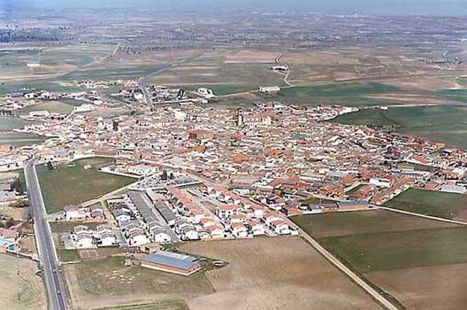Vista aérea de Novés