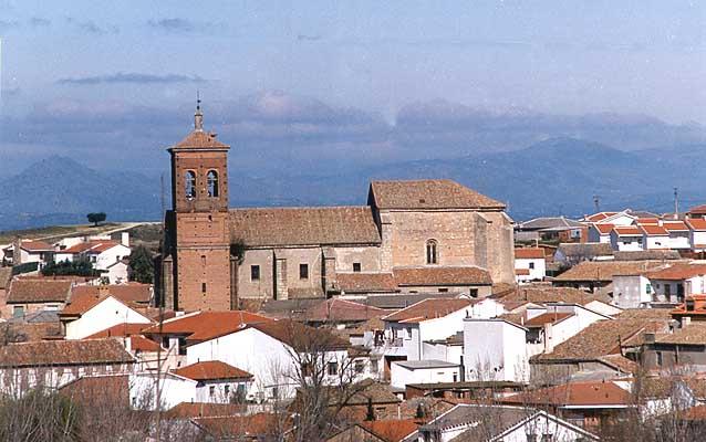 Iglesia parroquial Santa María Magdalena, conjunto panorámico