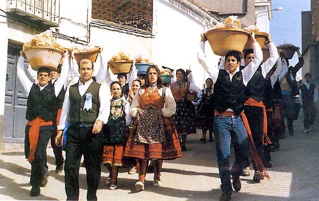 Carnaval tradicional en Torrico
