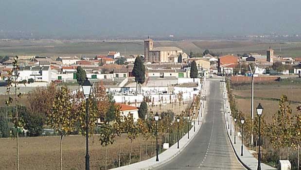 Panorámica de Santo Domingo Caudilla