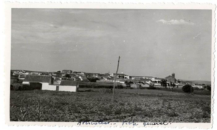 Arcicóllar. Vista panorámica. 1957 (P-28)