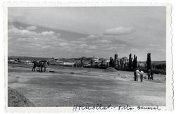 Arcicóllar. Vista panorámica desde las eras. 1957 (P-29)