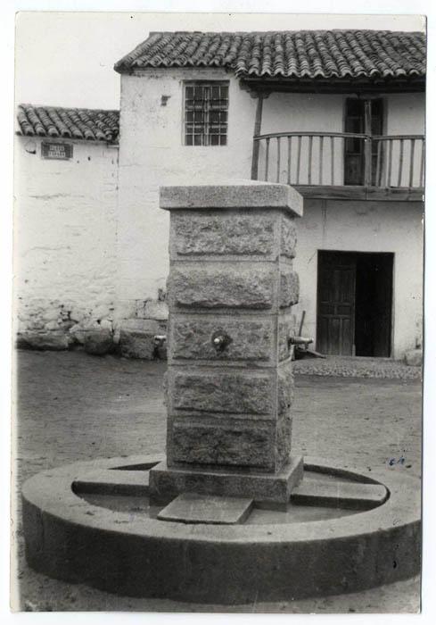 Azután. Fuente de los Cuatro Caños. 1961 (P-33)