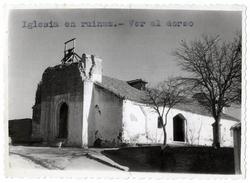 Burujón. Iglesia en ruinas. Hacia 1960 (P-47)