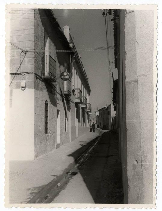 Calera y Chozas. Calle Augusto González Besade. 1958 (P-56)