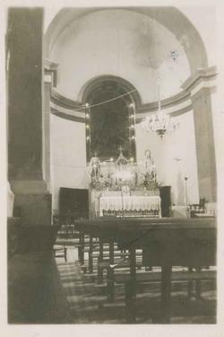 Camarenilla. Interior Iglesia Ntra. Sra. del Rosario. (P-89)