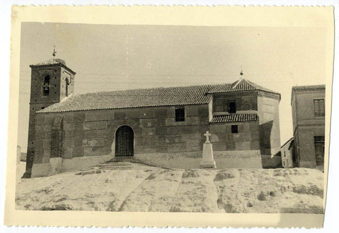 Carriches. Iglesia de San Pedro de Antioquía. 1958 (P-98)