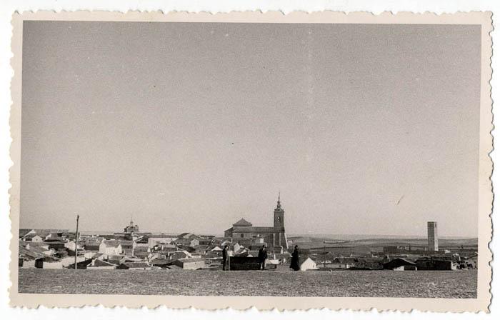 Casarrubios del Monte. Vista panorámica. 1958 (P-108)
