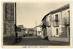Cervera de los Montes. Calle doctor Berrueco. 1958 (P-127)