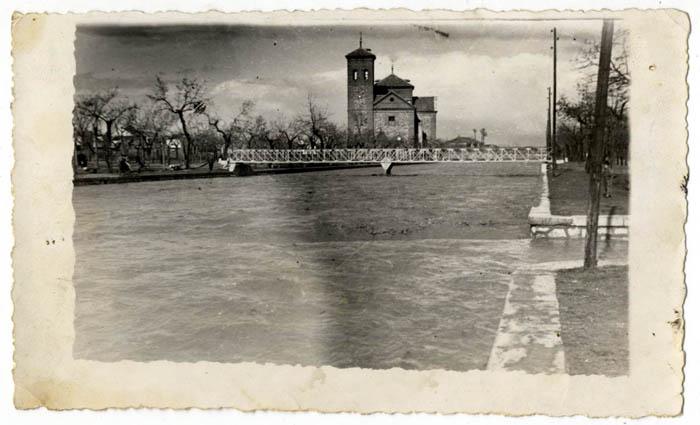 Consuegra. Crecida del río Amarguillo el 11-9-1957 (P-150 )