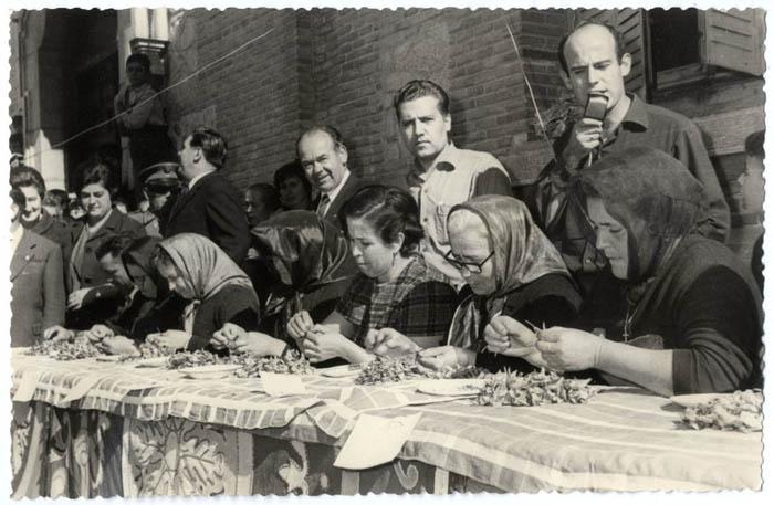 Consuegra. Concurso monda de la rosa del azafrán.1957 (P-178