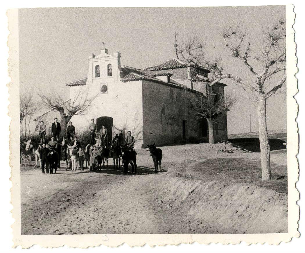 Casarrubios del Monte. Ermita Virgen de la Salud.1958 (P-100