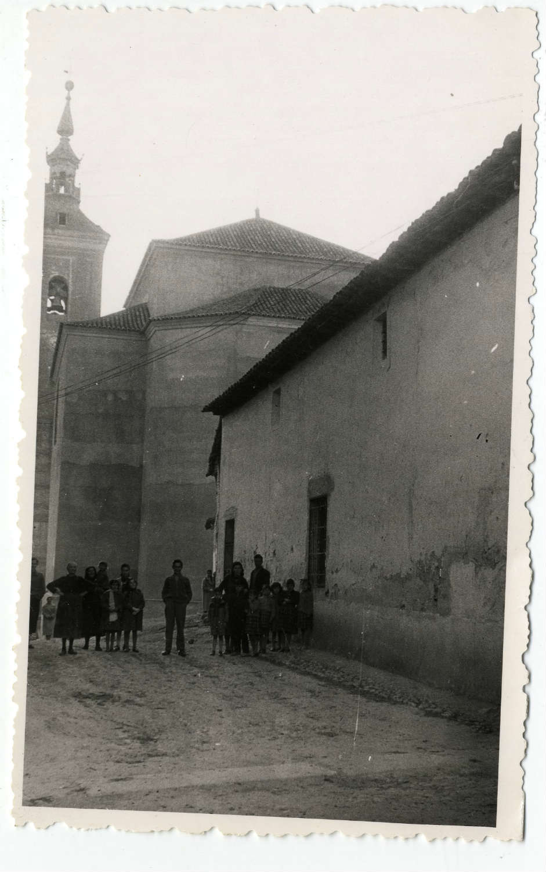 Casarrubios del Monte. Calle de Santa María. 1958 (P-102)