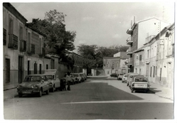 Consuegra. Calle Fray Fortunato pavimentada. 1973 (P-149)