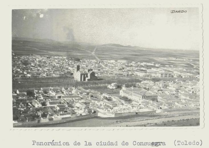 Consuegra. Vista panorámica parcial. 1958 (P-2466)