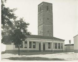 Casarrubios del Monte. Escuelas. Hacia 1960 (P-2577)
