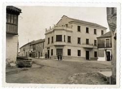 El Carpio de Tajo. Plaza del Rollo. 1958 (P-223)