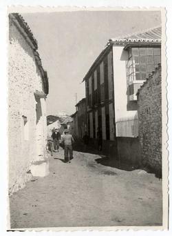 El Campillo de la Jara. Calle Nava. 1958 (P-82)