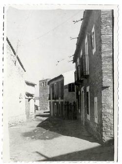 El Campillo de la Jara. Calle Real. 1958 (P-83)