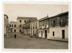 El Carpio de Tajo. Plaza de España. 1958 (P-226)