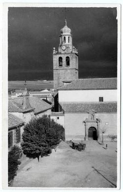 El Puente del Arzobispo. Iglesia Santa Catalina.1965 (P-237)