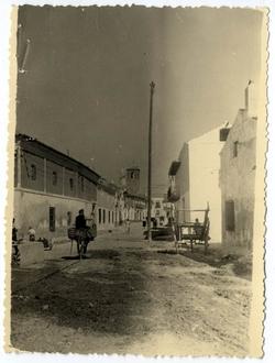 El Romeral. Calle don Venancio González. 1960 (P-251)