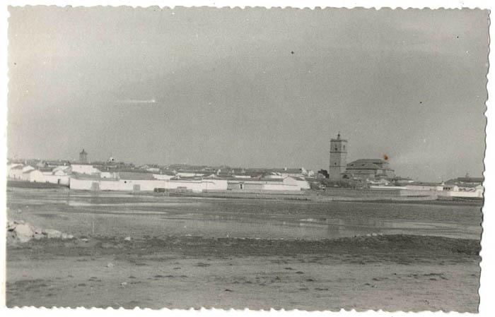El Toboso. Vista panorámica. 1960 (P-256)
