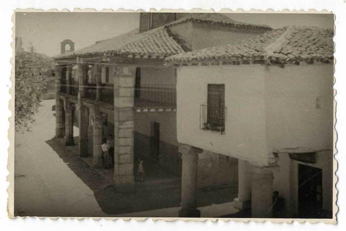 Escalona. Casa Ayuntamiento. 1959 (P-280)