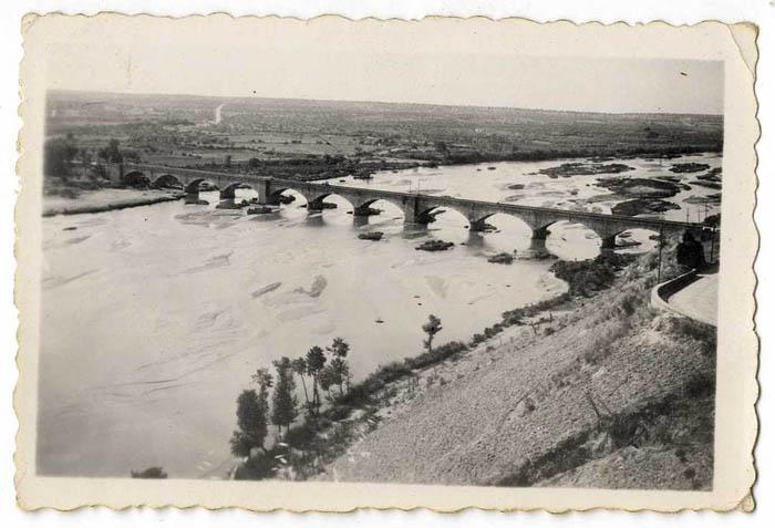 Escalona. Puente sobre el río Alberche. 1959 (P-283)