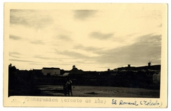El Romeral. Panorámica de la localidad. 1960 (P-249)