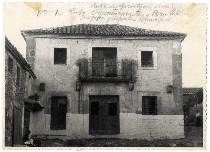 Garciotum. Casa Ayuntamiento. 1959 (P-307)