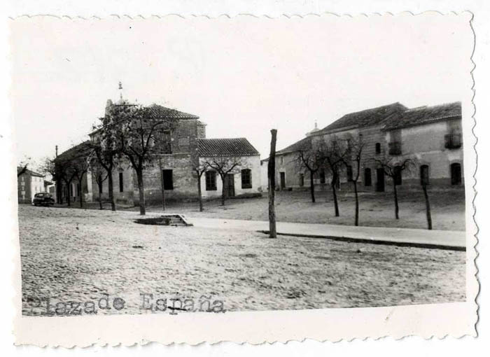 Gerindote. Plaza de España. Hacía 1960 (P-312)