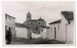 Huecas. Iglesia de San Juan Baustista. 1959 (P-317)