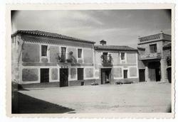 Herreruela de Oropesa. La Plaza. 1959 (P-329)