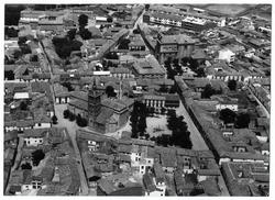 Illescas. Vista aérea parcial. 1968 (P-345)