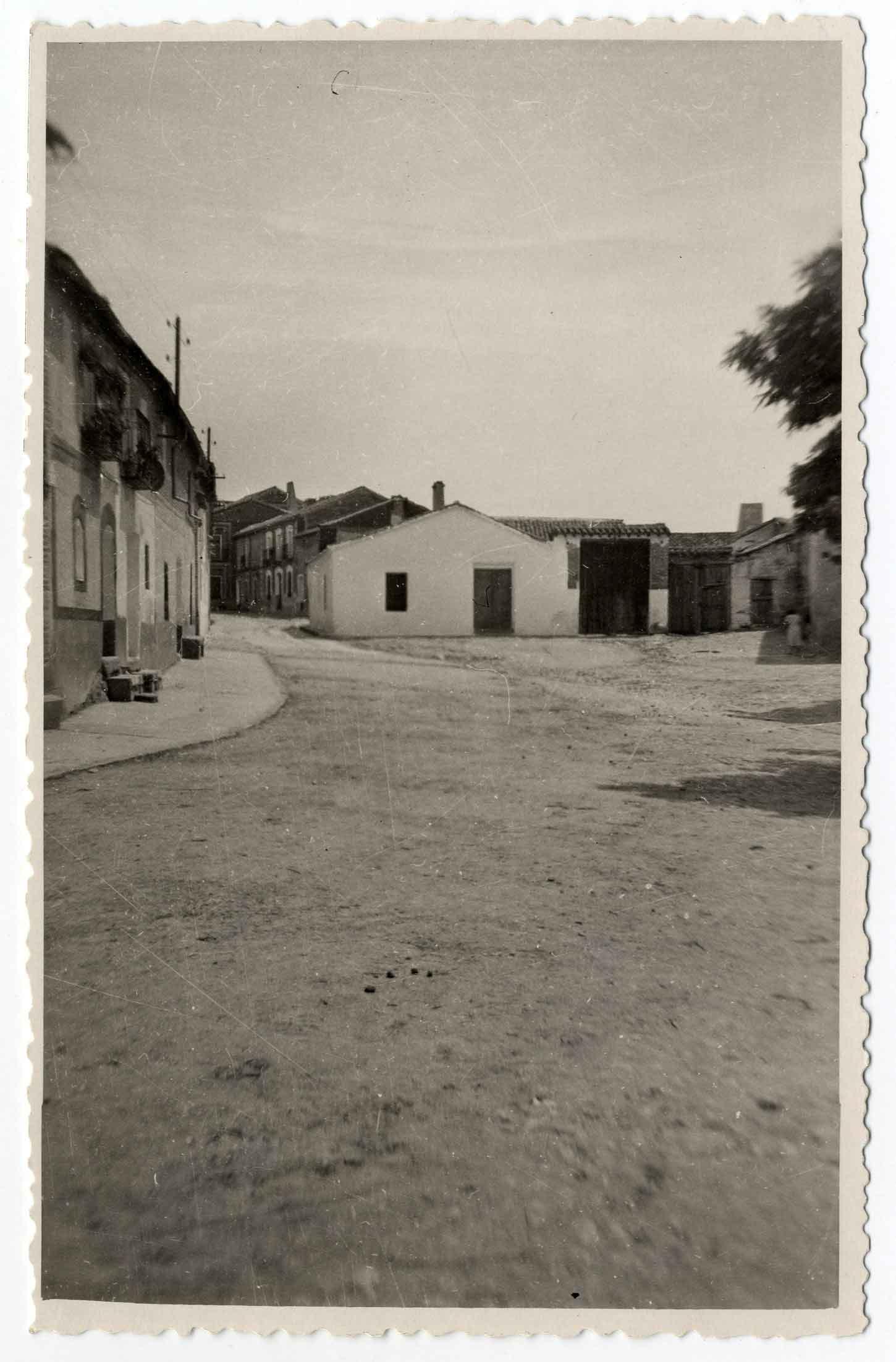 Hormigos. Plaza del Generalísimo 1959 (P-340)