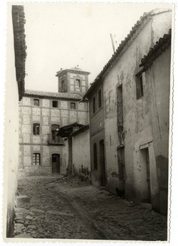 La Calzada de Oropesa.  Casa de la Castilla. 1958 (P-66)