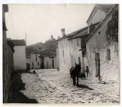La Calzada de Oropesa. Calle Espoz y Mina. 1958 (P-68)