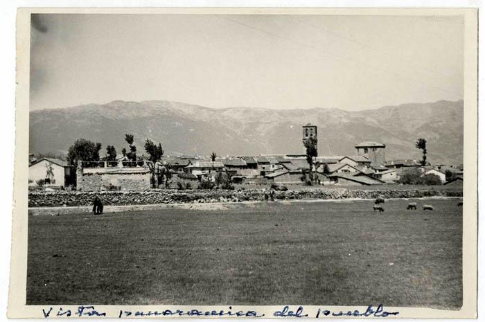 La Iglesuela. Vista panorámica. 1959 (P-350)