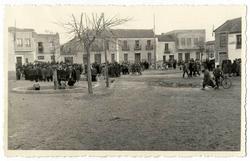 La Mata. Vista de la plaza. 1959 (P-354)