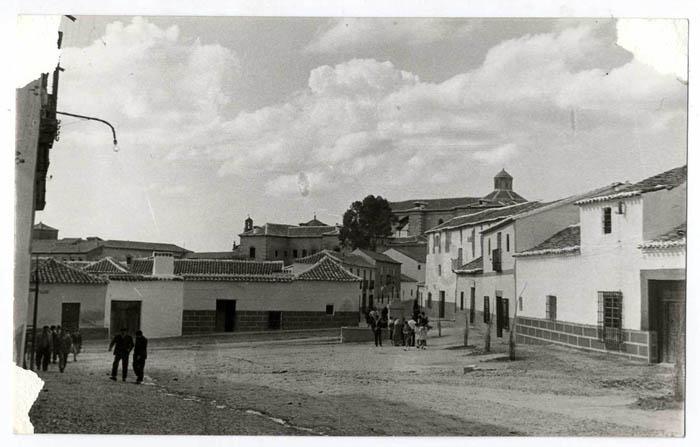La Puebla de Montalbán. Plaza del Sol. Hacia 1960 (P-391)