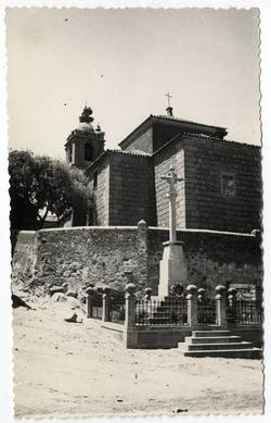 Lagartera. Iglesia parroquial de El Salvador. 1959 (P-430)