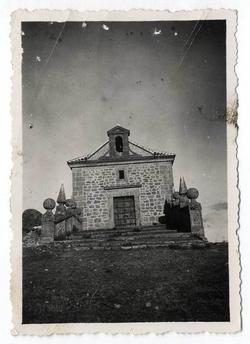Las Ventas con Peña Aguilera. Ermita. 1960 (P-1450)